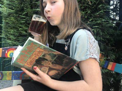 In Bottrop am Heinrich-Heine-Gymnasium sind WIR auch gerne very British und lesen gerne Harry Potter.