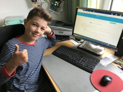 Maximilian Kolbe Gesamtschule Saerbeck  GREAT - HOME CHALLENGE geschafft! Super !!!