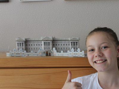 Bühl Windeck-Gymnasium Das ist eines meiner Lieblings 3D Puzzle die ich schon gemacht habe. Der Buckingham-Palast.