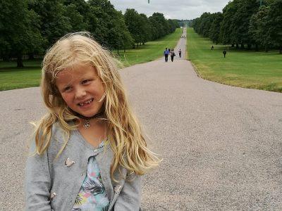 London, KGS Kirchweye  Der Long Walk wird auch Queens Walk genannt.