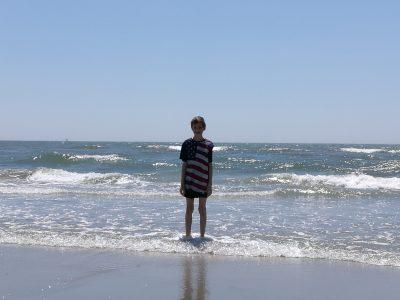 Me in Atlantic City at the beach