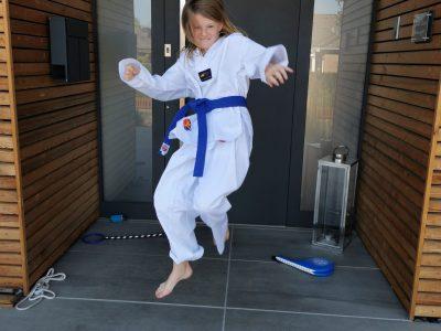 Lüdinghausen  St. Antonius Gymnasium ,  Jump around... Taekwondo is my favourite sport. See you            Zoe