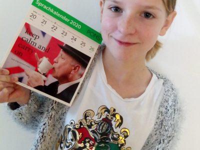 "Anabel Zeise aus Leipzig, BIP Kreativitätsgymnasium ""Keep calm and carry on!"""