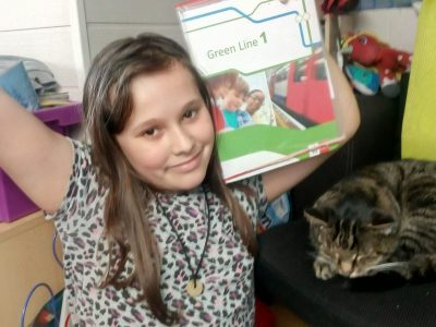 Köln Lessing Gymnasium English lessons with my cat Charly