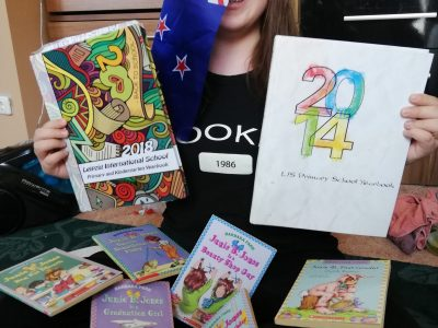 Leipzig, Freie Rahn Oberschule  My primary school time in Leipzig and my New Zealand souvenir