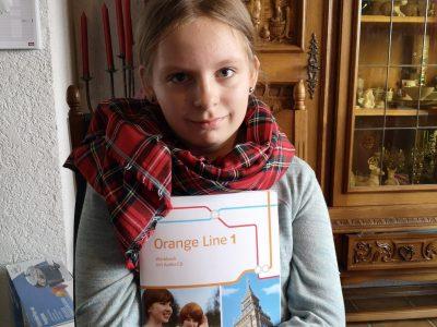 Oberhausen/Rheinhausen, Gemeinschaftsschule  Es ist geschafft!Eine glückliche Contest Teilnehmerin!