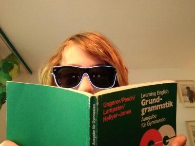 Der englisch-Bücherwurm aus dem Eckener-Gymnasium in Berlin