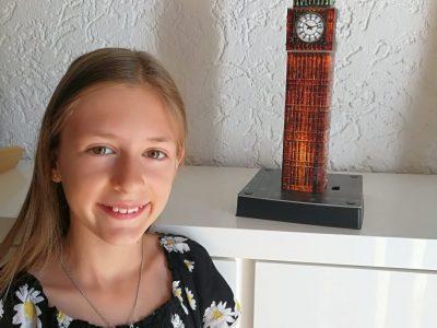 Karlsruhe, Gymnasium Neureut, Elena Krätz 5d  Ich war letztes Jahr mit meiner Familie in London, es war super. Danach habe ich mir zu Weihnachten das 3D Puzzle Big Ben gewünscht!