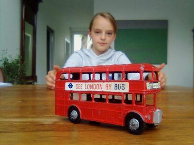 Mit dem Bus durch London, Anni Lene aus Worpswede, Gymnasium Lilienthal