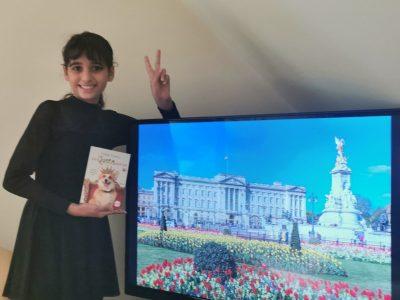 Willich , Robert Schumann Gesamtschule Souhad ist Fan des britischen Königshauses