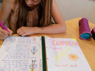 Waldkraiburg Gymnasium Waldkraiburg Englisch als SCRAP-BOOK ist cool