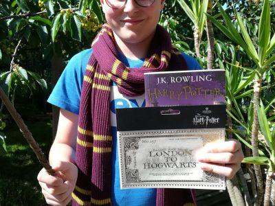 "Östringen, Leibniz-Gymnasium  ""Still waiting for my letter from Hogwarts..."""