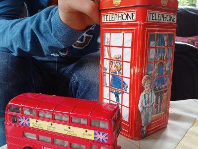 Havixbeck Anne Frank Gesammtschule                              Ich spare kräftig auf die Fahrt nach London .
