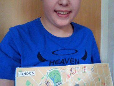 Bassum Obs Bassum Ich habe eine Stadt Karte von London fotografiert
