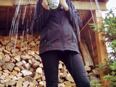 Eilenburg Martin-Rinckart-Gymnasium  Im strömenden Regen einen heißen Tee genießen... So stellt man sich einen erholsamen Aufenthalt in Großbritannien vor!
