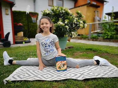 Mosbach, Nicolaus-Kistner-Gymnasium Lea-Sophie 5a Sportlich mit Harry Potter