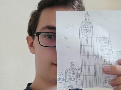 Stadt: Hohenhameln Schule: Realschule Hohenhameln  Das soll der Big Ben sein der ein wichtiges Bauwerk der Britischen Hauptstadt London ist.