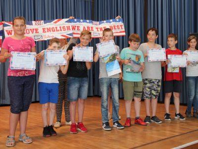 """Grundschule """"Lenné"""" Frankfurt(Oder) Congratulation class 5"""
