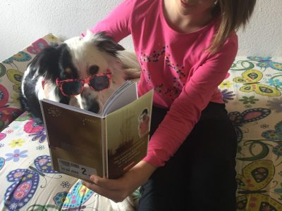 Unser Hund Foxy mag auch die Amazing Adventures of Jack London :))
