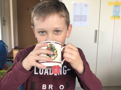 In der Warnowschule Papendorf ist Tea-Time!