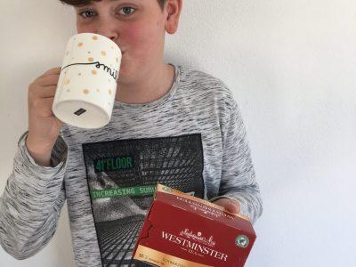 "Potsdam, Bruno-H.Bürgel Grundschule, ""It's tea time"""