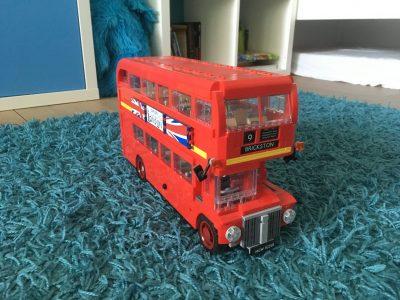 Hannover Goetheschule  Mein selbstgebauter Londoner Bus!