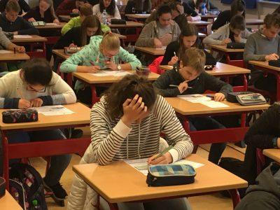 130 Schülerinnen und Schüler wollten 2017 bei der 2. Auflage von The Big Challenge am Gymnasium Horn-Bad Meinberg dabei sein