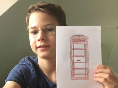 Hey Big-Challenge Team  Stadt: Fellbach Schule: Friedrich-Schiller-Gymnasium  Ich habe eine Telefonzelle gemalt, weil ich selbst schon einmal in London war und mir die Telefonzellen sehr gefallen haben. Viele Grüße Lauri Kurtz