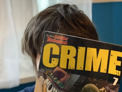 Käthe-Kollwitz-Gymnasium Berlin  Crime-Comic
