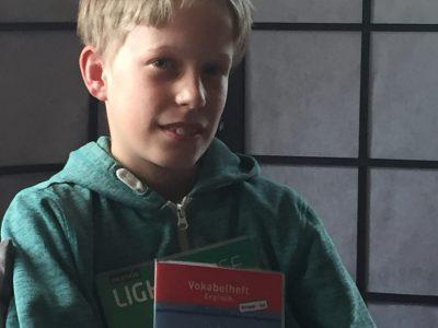 Björn Mielsch aus Cunewalde  Fremdsprachen erleichtern das Leben. ;-)