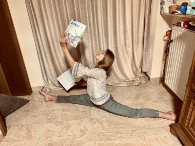 Bad Ems , Goethe-Gymnasium  #how dancers in quarantine do homeschooling :)