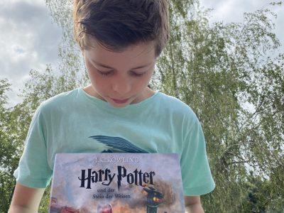 """""""Ich bin im gleichen Krankenhaus wie Harry Potter (Daniel Radcliffe) geboren."""" Essen, Gymnasium Essen Werden"""