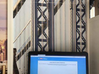 Erfurt Evangelisches Ratsgymnasium Maj Berit Winkelmann Big Challenge mit der Brooklyn Bridge