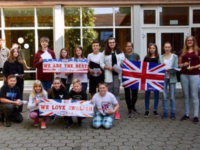 Realschule Hohenhameln - strahlende Gesichter bei den glücklichen Gewinnern