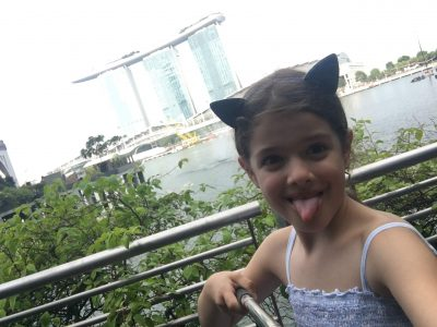 My name is Julia and I go to the Luisen-Gymnasium in Hamburg. I love speaking Englisch and I was lucky to travel to Singapore with my parents two years ago.