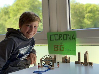 Essen, Helmholtz-Gymnasium  CORONA - The BIG Challenge 2020