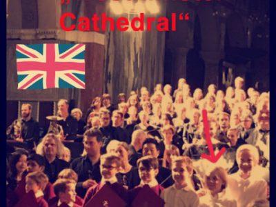 Berlin Heinz-Berggruen-Gymnasium  Mit dem Staats- und Domchor Berlin in der Westminster Cathedral -gemeinsamer Auftritt mit dem Westminster Knabenchor