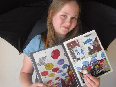 Gymnasium Munster Als ich in England genauer in Salisbury war, fand ich die Straße mit den bunten Regenschirmen am schönsten.