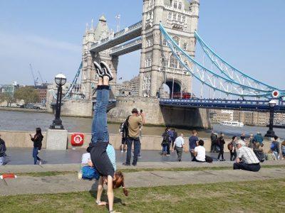 Herne, Leni Drewes, Gymnasium Eickel Sonniger/super Urlaub in London. :-)