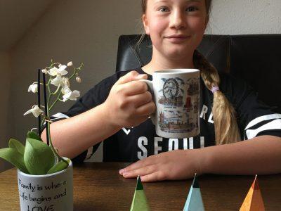 Eilenburg Klara Meyer Martin Ringart Gymnasium It's tea time happy simle