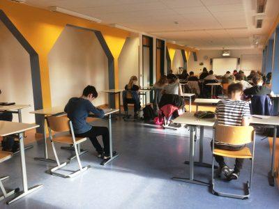 First Big Challenge ever at UvH! Eagerly awaiting the results. (Ulrich-von-Hutten-Gymnasium, Berlin)