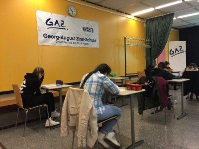 Georg-August-Zinn-Schule, Europaschule in Kassel Schülerinnen und Schüler der Jahrgänge 6 und 7 stellen sich der Herausforderung ;)