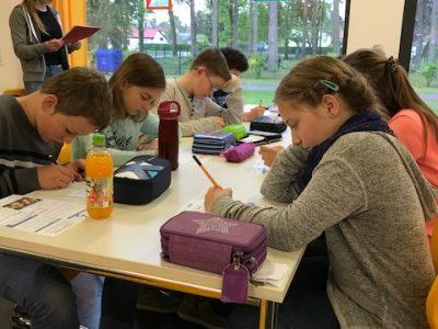 Die Grundschule Schulzendorf bei der Big Challenge 2017