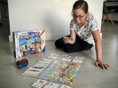 Espelkamp Söderblom Gymnasium  Mit dem Tiptoi Spiel, kann man spielerisch Englisch lernen. Es macht sehr viel Spaß.