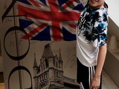 Havixbeck, AFG Ich habe 2018 mit meinen Eltern und meiner Schwester London besucht. Das Bild ist ein Andenken aus London. Erik Hublitz, Klasse 6.5
