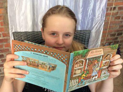 Meinersen Sally Perel Realschule Mit dem englischen Buch aus meiner Mutters Kindheit !
