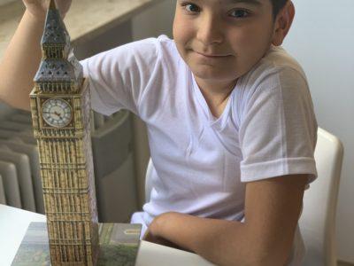 70736 Fellbach Friedrich Schiller Gymnasium   Londons großer Stolz Big Ben in 3D Puzzle!