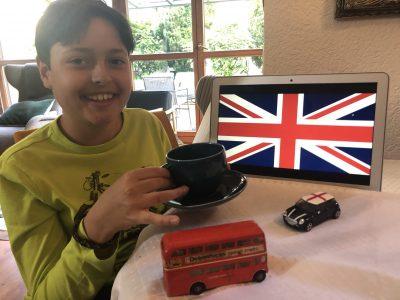 Tea Time Union Jack !  Dietzenbach - Heinrich-Mann-Schule Klasse 5AG
