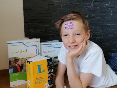 Wiesentheid, Steigerwald-Landschulheim Jakob Geiling, 5 a  Englisch macht mir sehr viel Spaß!