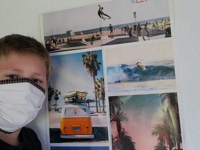 Prien Ludwig Thoma Gymnasium  Surfen in Los Angeles.